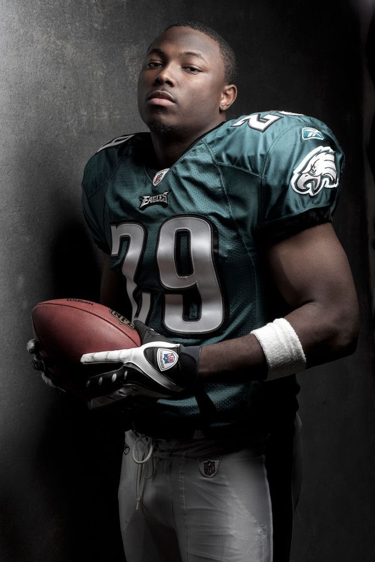 "LeSean McCoy, nicknamed ""Shady"", NFL running back for the Philadelphia Eagles. He broke the all-time Eagles rookie rushing record, & currently holds the rushing touchdown records with 17 rushing & 20 total touchdowns. He was voted into the Pro Bowl for his season's performance. He won the Fed Ex Ground Player of the Year Award, & was also voted Associated Press All-Pro First Team running back.  He is a graduate of UPitt."