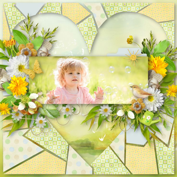 """template by Made by Keuntje, https://madebykeuntje.com/1822-2-2/, kit """"Hello Spring"""" by BooLand Designs, photo Pixabay"""