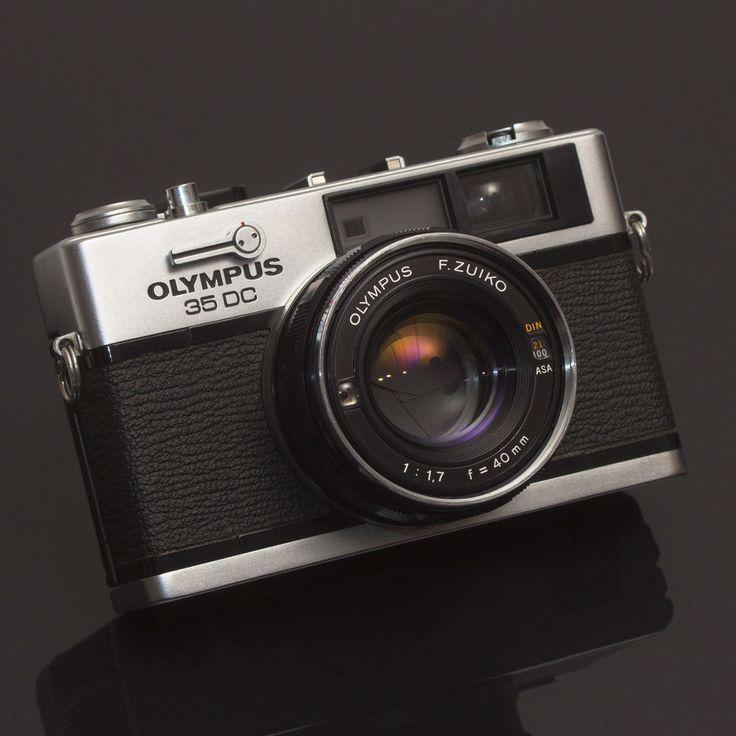 Olympus 35 DC Vintage 35mm Film Rangefinder CAMERA Zuiko 40mm 1.7 Lens Japan EXC