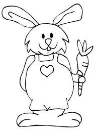 Resultado de imagen para conejos sencillos  para pintar