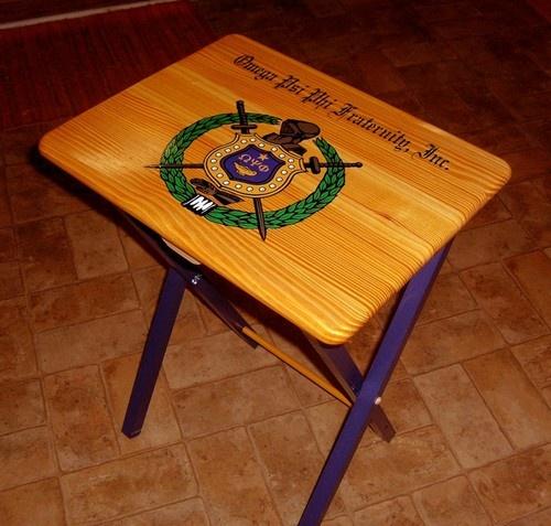 Omega Psi Phi folding table