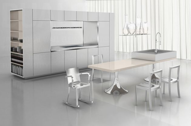 Piet Boon Keuken Warendorf : Philippe Starck Kitchen Design
