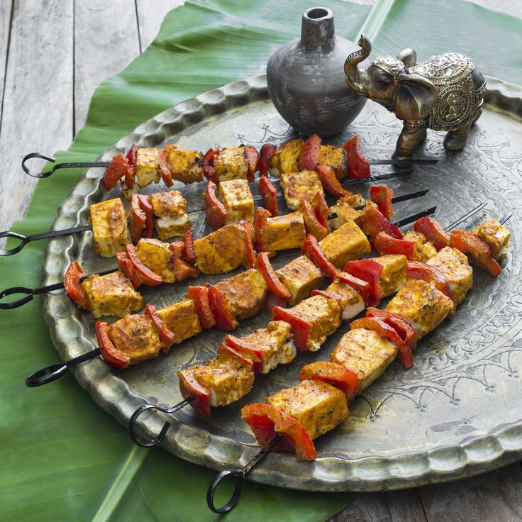 Thermomix | Paneer tikka | Flavours of Cookbook + Recipe Chip |