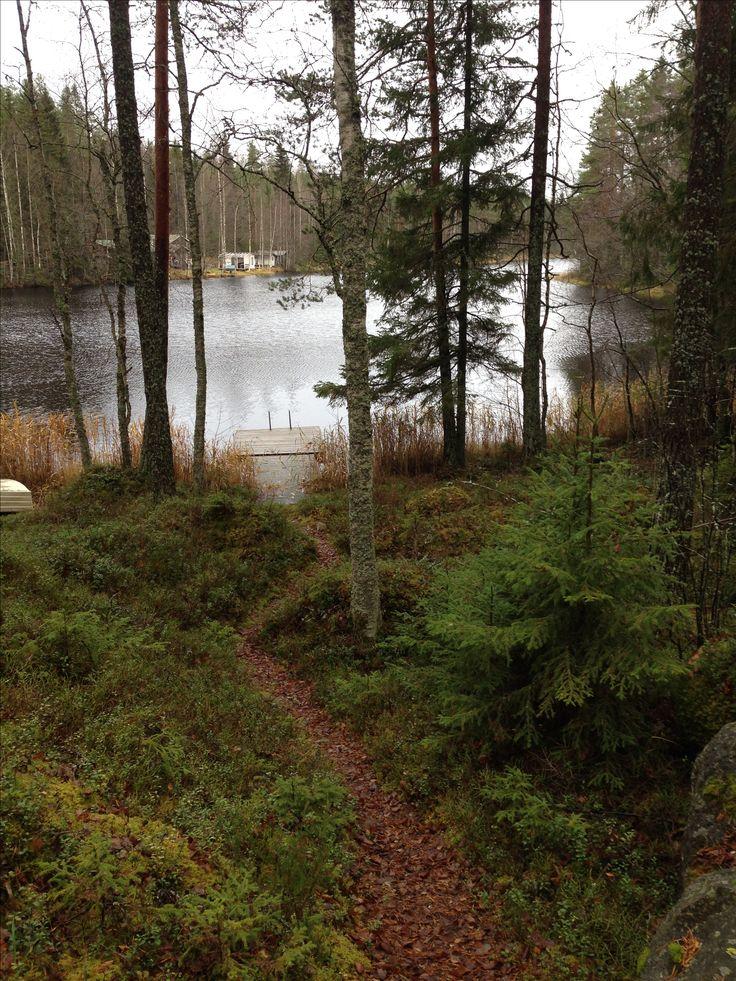 Lake Humalus, Hartola, Finland