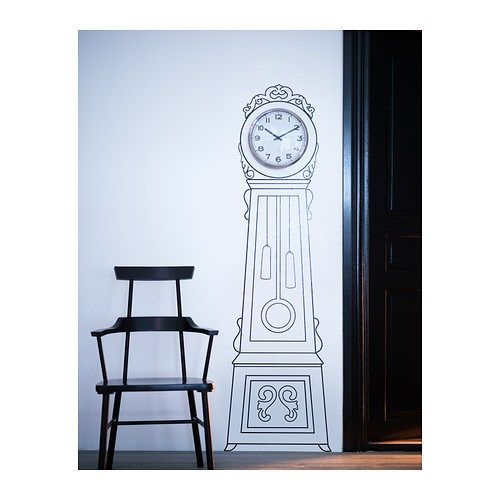 78 images about grandfather clocks vintage modern on pinterest entryway antiques and - Wall hanging grandfather clock ...