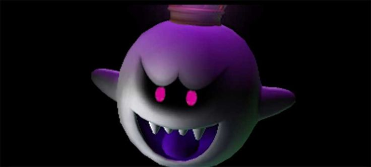 #King #Boo from #Super #Mario and #Luigi's #Mansion #Art #Gallery