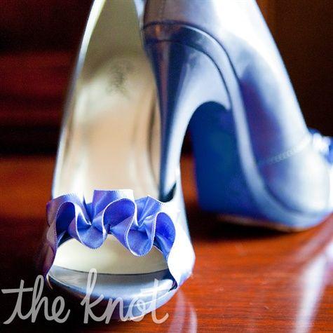 Periwinkle Blue Wedding Shoes