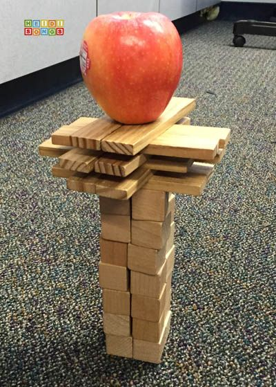 Apple Jenga: A Fun Seasonal STEM Challenge for Primary Kids!