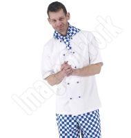 CJ905 - Unisex White S/S Chefs Jacket