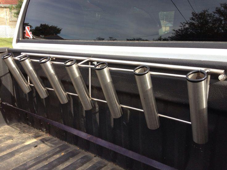10 best striped bass images on pinterest fish art bass for Fishing rod holders for trucks