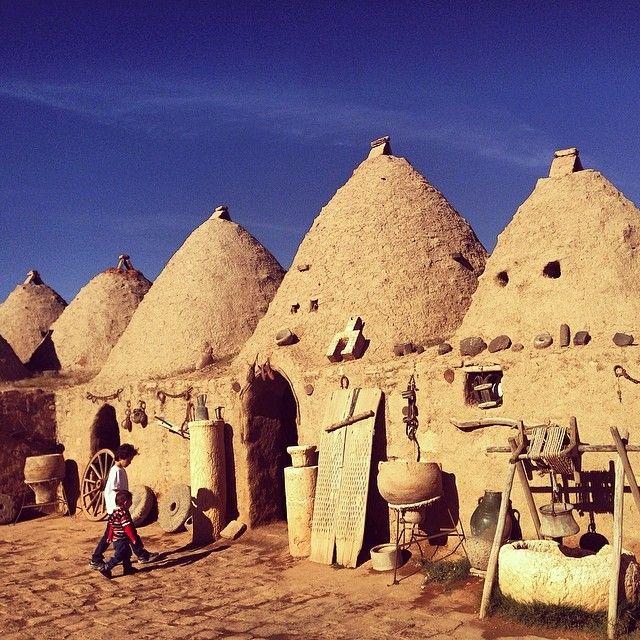 ''Houses of Harran / Sanliurfa'' photo by Mustafa Seven  http://instagram.com/mustafaseven  #comeseeturkey