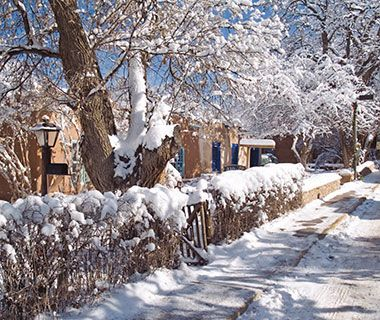 America's Best Winter Drives - The High Road to Taos, New Mexico