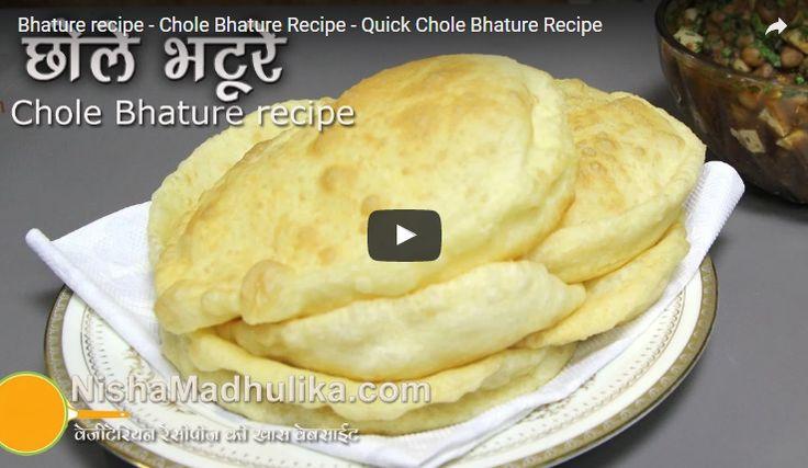 Chole Bhature Recipe Video
