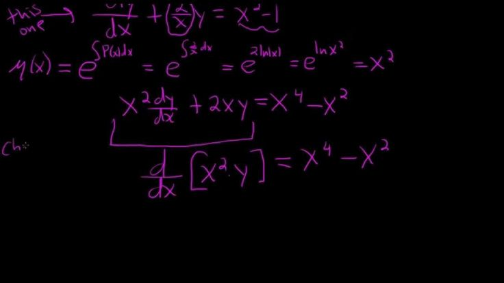 Solving a First Order Linear Differential Equation -         Repinned by Chesapeake College Adult Ed. We offer free classes on the Eastern Shore of MD to help you earn your GED - H.S. Diploma or Learn English (ESL) .   For GED classes contact Danielle Thomas 410-829-6043 dthomas@chesapeke.edu  For ESL classes contact Karen Luceti - 410-443-1163  Kluceti@chesapeake.edu .  www.chesapeake.edu