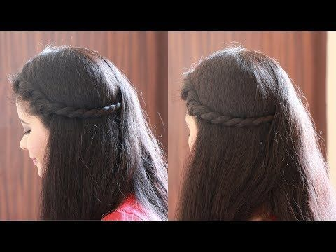 1 minute de coiffure pour collège / bureau - YouTube - #college #hairdressing #minute #office #youtube -