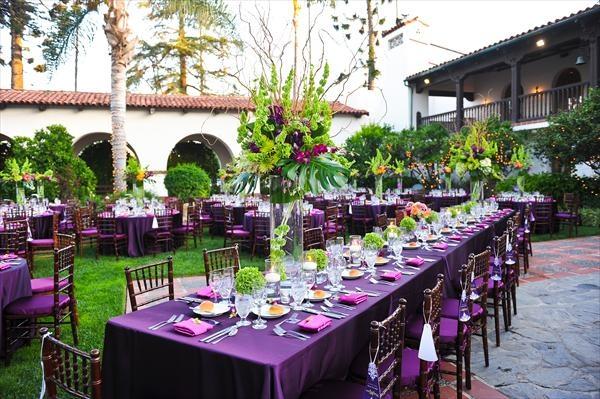 25+ Best Ideas About Purple Outdoor Weddings On Pinterest