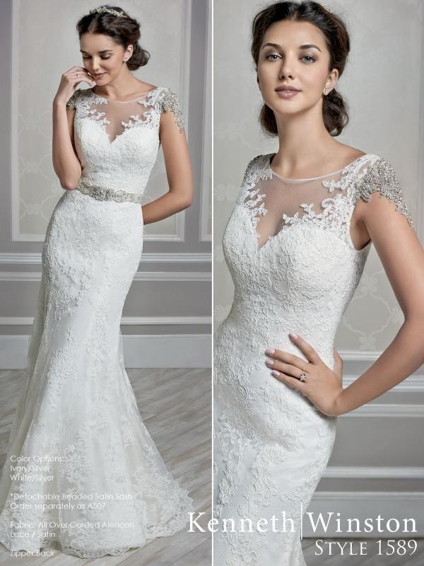 Igen Szalon Kenneth Winston wedding dress- 1589 #igenszalon #wedding #weddingdress #kennethwinston #eskuvo #eskuvoiruha  #menyasszony #menyasszonyiruha #Budapest