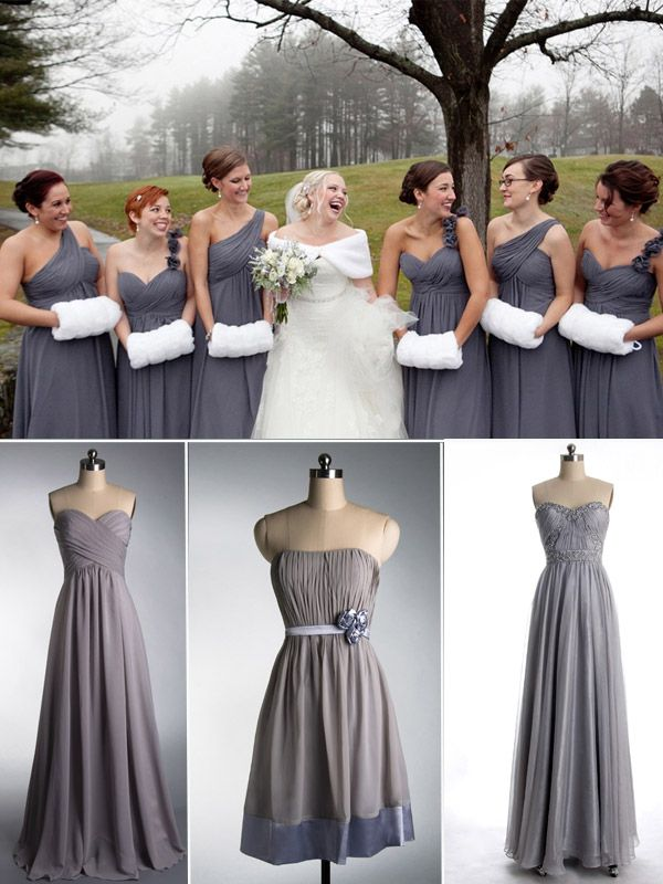winter-bridesmaid-dresses-for-Christmas