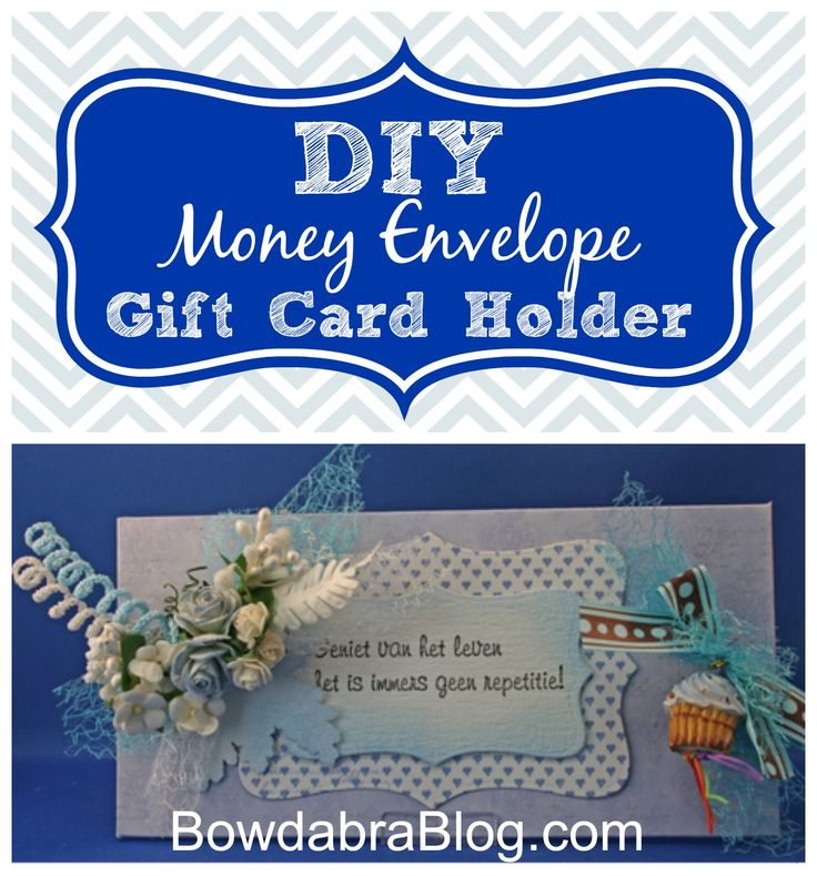 diy money gift card holder tutorial and free printable