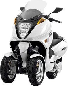 Le scooter électrique à 3 roues Vectrix VX-3 /// 3 wheeled electric scooter Vectrix VX-3