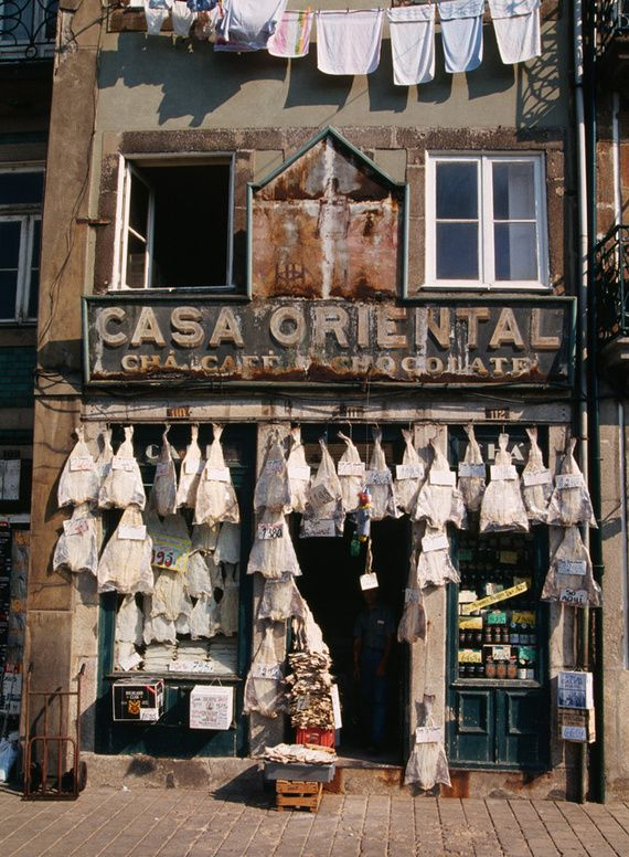 Check Casa Oriental, close to the Clérigos Tower in Porto. This house was founded in 1910 and offers all  the traditional portuguese sweets, cold meats, salted dried cod fish, fresh fruits and vegetable. Also cheeses, olives, wines and liqueurs.