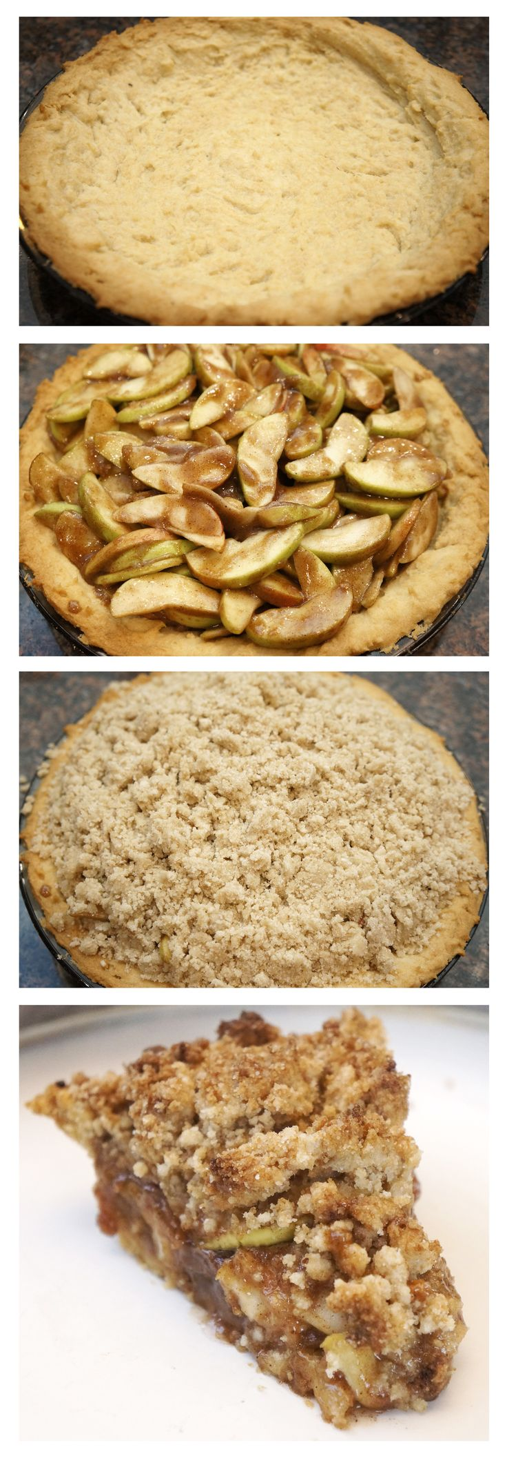 Dutch Apple Pie (Gluten Free)