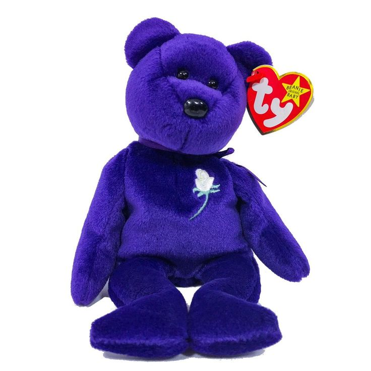 Rare Princess Diana Beanie Baby Purple  | eBay