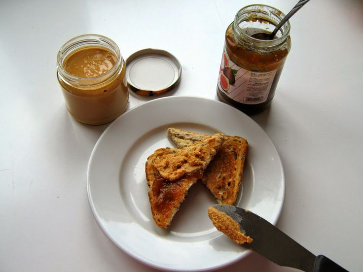 Home made peanutbutter