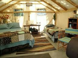 Just because we live in a tent does not mean that it has to look like : tents for living in - memphite.com