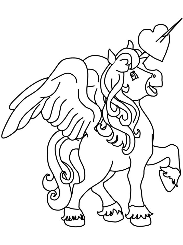 Pin By April Knipp On Coloring Pages Unicorn Coloring Pages