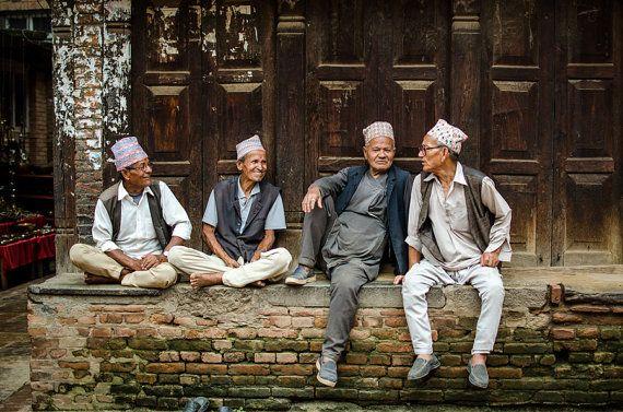 Bhaktapur, Nepal - Travel Photography - Friendship