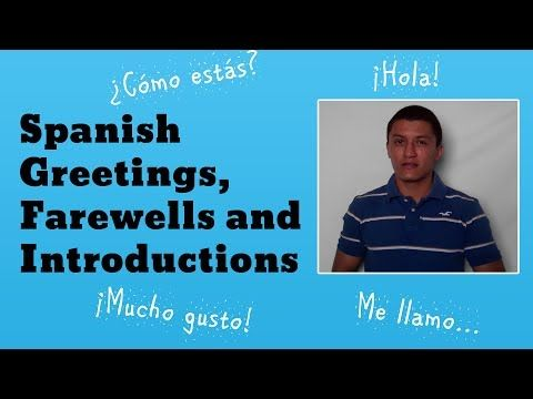 30 best spanish greetings farewells introductions images on this video covers some basic spanish greetings spanish introductions and spanish farewells you will learn how to introduce yourself in spanish m4hsunfo