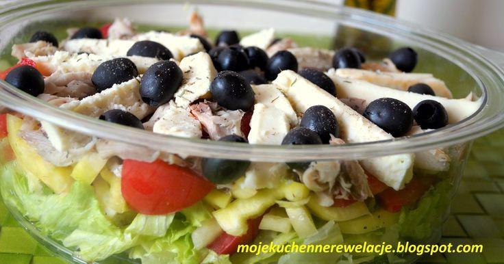 Sałatki  - Bałkańska sałatka