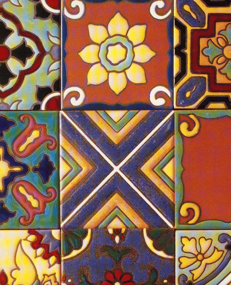 263 best images about tiles on pinterest ceramics barcelona and portuguese - Piastrelle siciliane decorate ...
