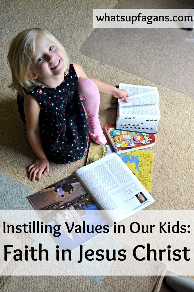 Instilling Values in Our Children