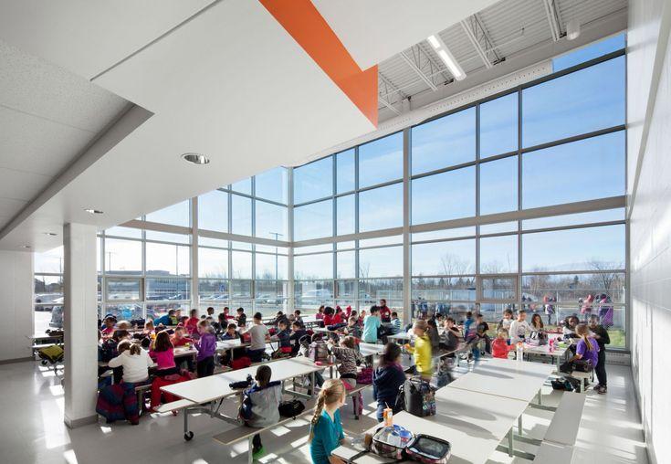 Construction de l'école de l'Équinoxe – Héloïse Thibodeau Architecte