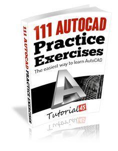 Learn AutoCAD, AutoCAD course