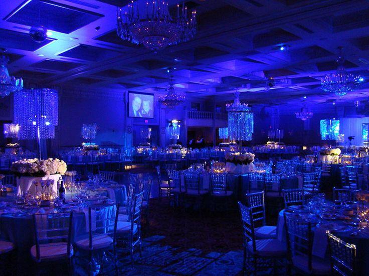 Corporate Event Full Room Colourwash