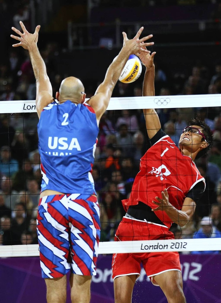 Day 2 Top Olympic Shots From London Chicago Tribune Volleyball Photos Beach Volleyball Volleyball Photography