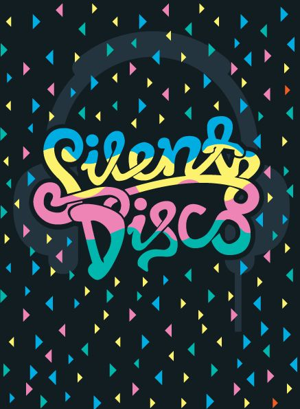 silent disco poster design - Google Search in 2019 | Disco ...