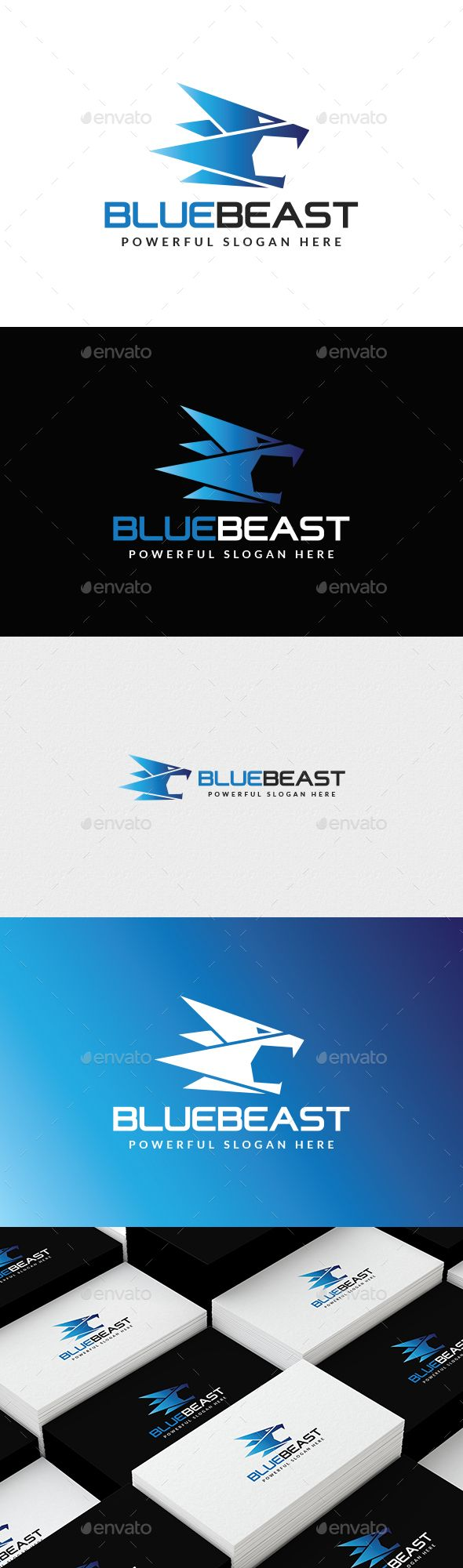 Beast Logo Template by mahamudulh LOGO SPECIFICATIONS100 Vector Logo100 Editable and ScalableWeb & Print ReadyLayered by NameCMYK Colors, 300 dpiUsed Free Fonts (
