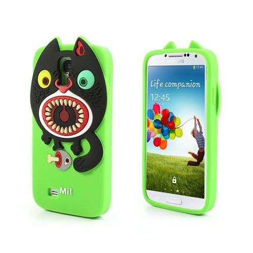 Monster (Groen) Samsung Galaxy S4 Hoesje
