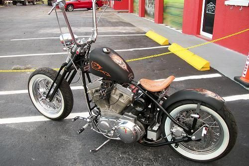 With the ape hangers, I'll take it :) #harleydavidsonchoppersapehangers