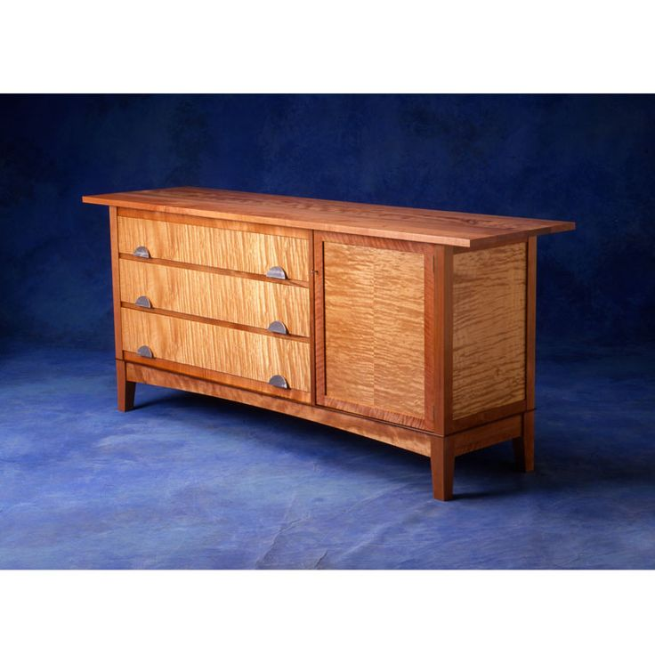 Quilted Maple Sideboard by Anton Gerner - bespoke contemporary furniture melbourne