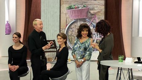 Behind the scenes at QVC Italy Sunday 11th May 2014 #behindthescenes #backstage #beauty #QVC #QVCItaly #QVCItalia #jctb #joancollinstimelessbeauty #makeup #glamour