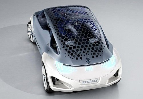 Renault, L'Oreal, solar-powered cars, Electric Car, Zoe ZE Spa
