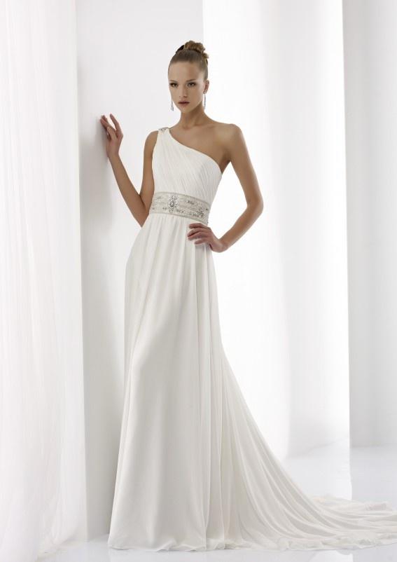 Collezione abiti da sposa #Jolies, abito da #sposa modello JOAB13306IV