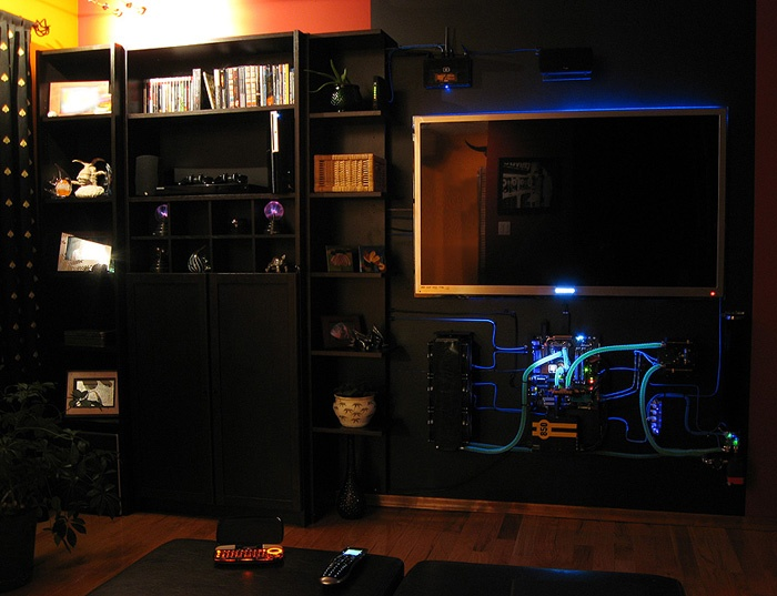 Living Room PC Of Awesomeness
