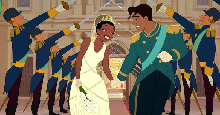 I got The Princess and the Frog! Which Disney Wedding Should You Have?