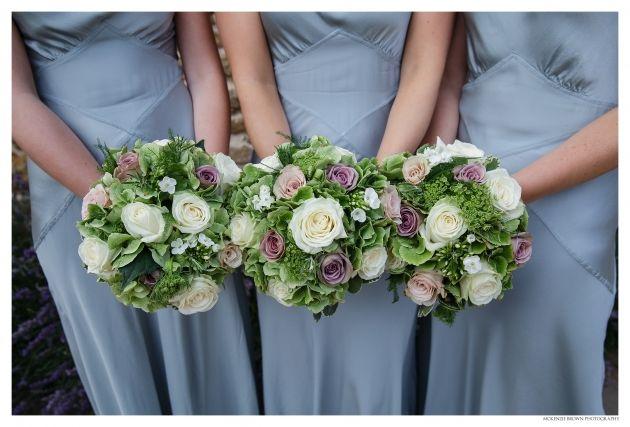 Bridesmaids rose bouquets. Mckenzie Brown Photography » Blog